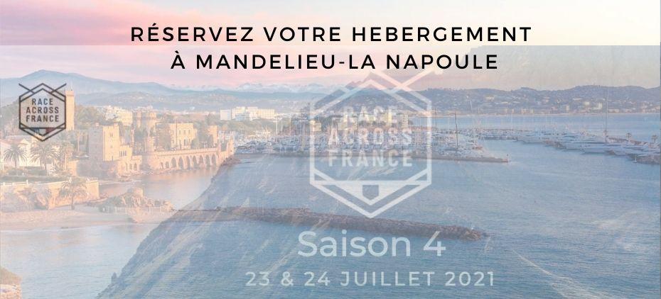 RACE ACROSS FRANCE - HEBERGEMENT